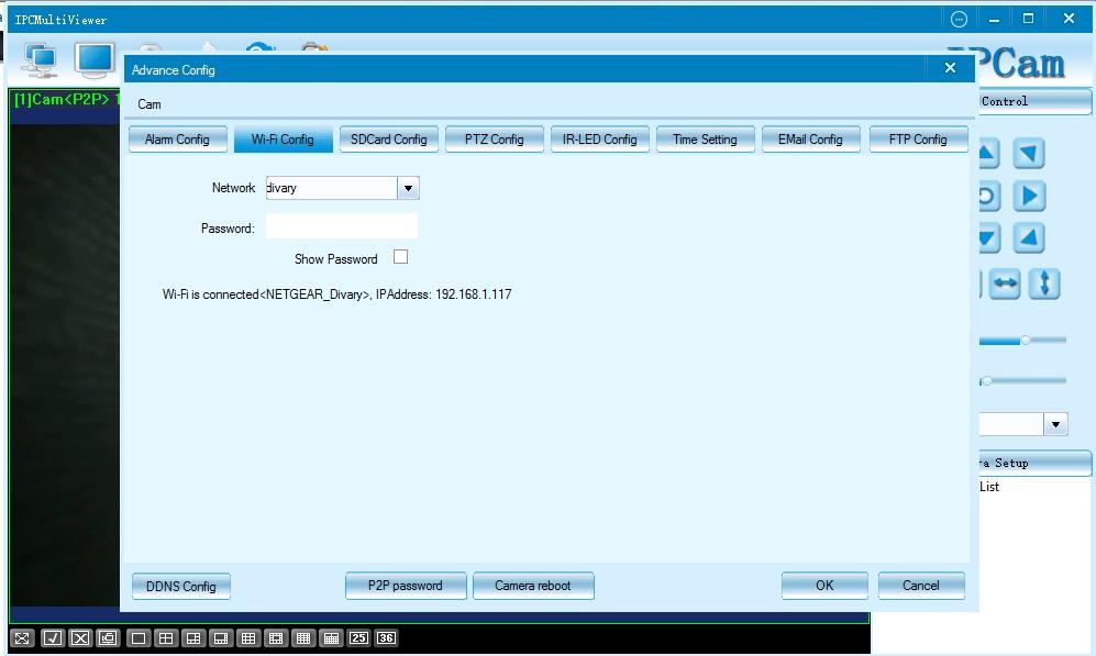 WiFi видеоняня, охранная видеокамера с аккумулятором и НВ, с DVR.DE-WECM-CL10D-E (Mr.CUBE)