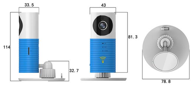 Видеоняня /WiFi видеокамера CleverDog Мишка Тедди с DVR (комплект) CleverDog TeddiBear